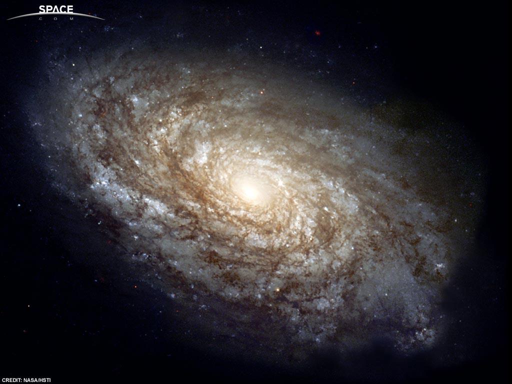 图片说明:哈勃望远镜下的美丽太空