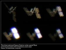 图片说明:May 22, 2009拍摄到的国际空间站,来源:NASA