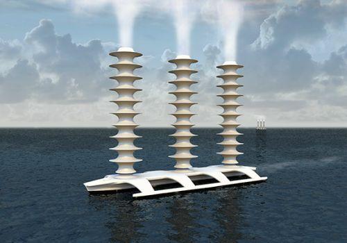 科学家计划研制造云船对抗全球变暖