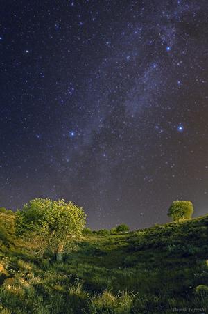 图片说明:天文城的夏季星空,版权:Babak Tafreshi
