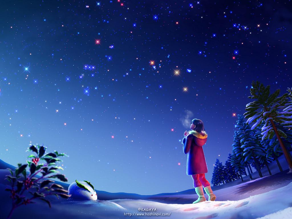 典型的冬季星空-KAGAYA