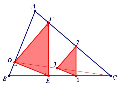 """三角形的""""六接圆""""-尺规作图2"""