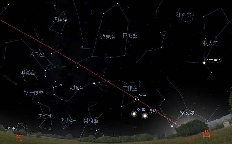 金星合月-201010091800