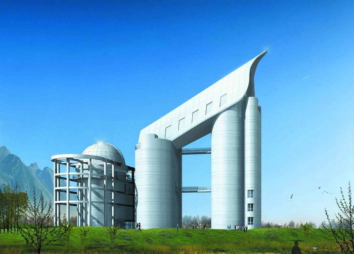 Lamost是目前世界最大的施密特望远镜.jpg