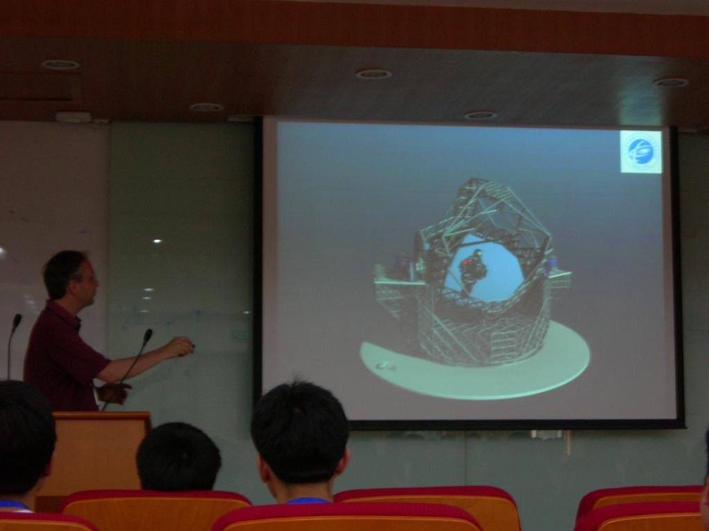 Richard de Grijs教授的讲座