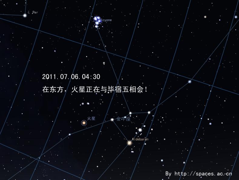 火星合毕宿五-201107060430