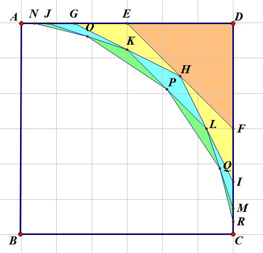 三角半分正方形