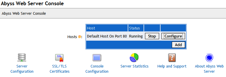 Abyss Web Server