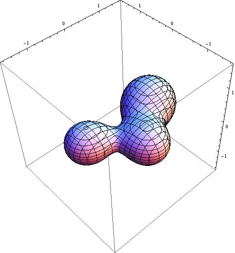 三个黑洞的合并