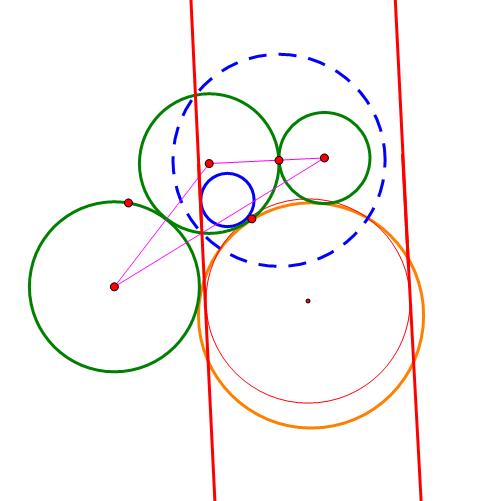 三个圆的公切圆2