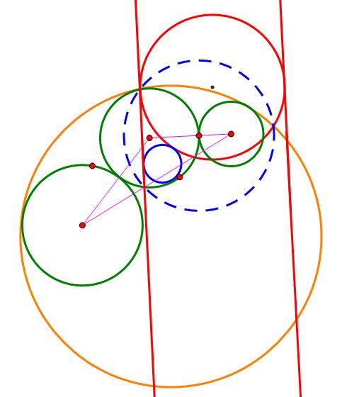 三个圆的公切圆1