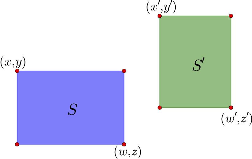 图14 两个示例区域