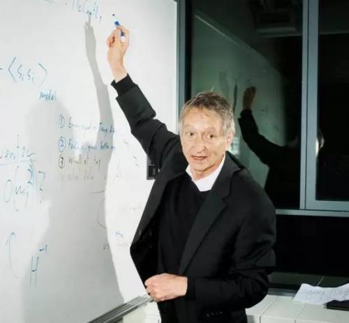 Geoffrey Hinton在谷歌多伦多办公室